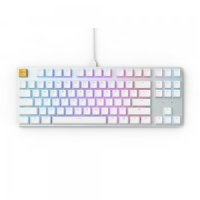 Glorious PC Gaming Race GMMK TKL - White Ice Edition - Gateron-Brown, US